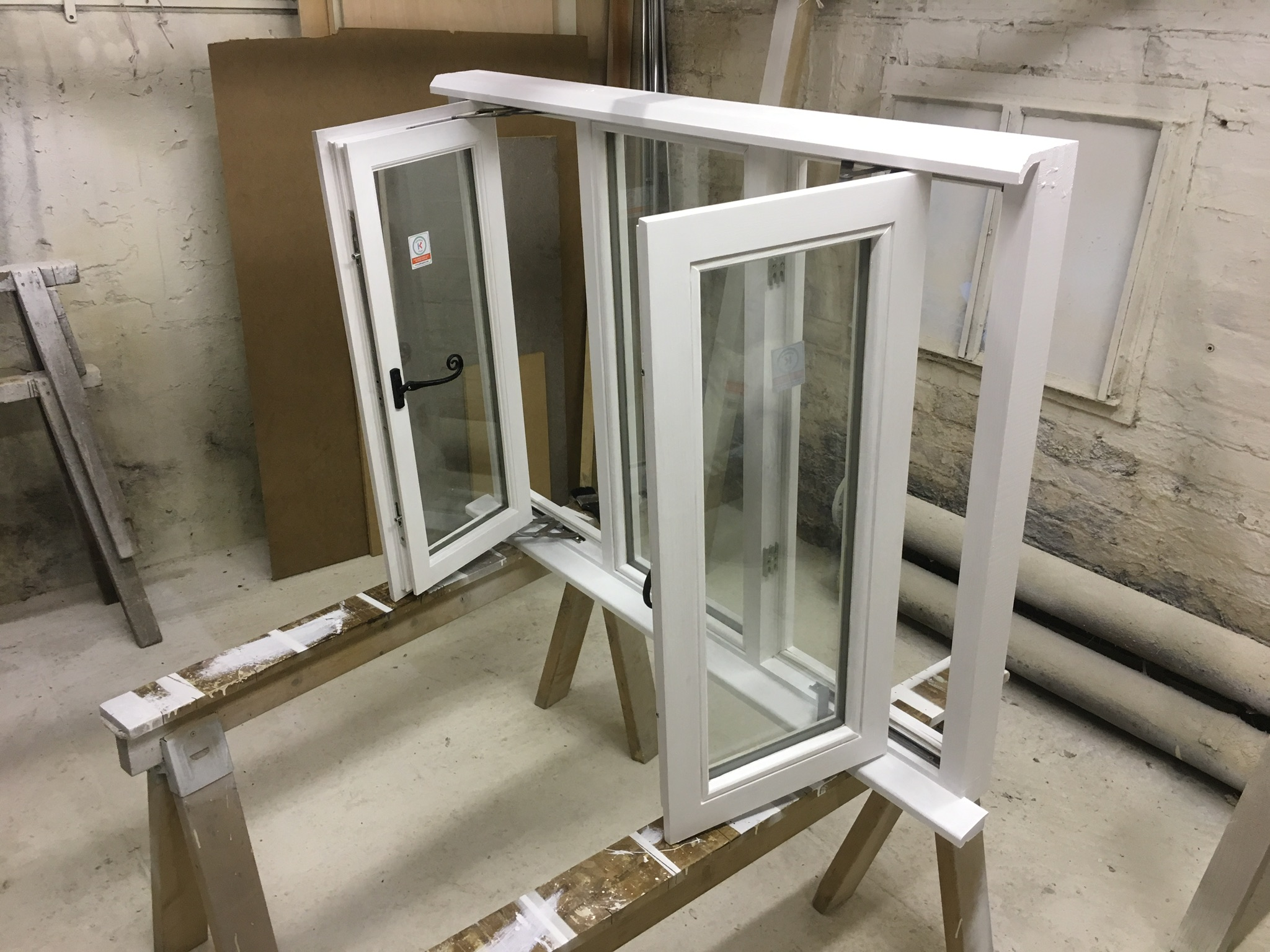 Assembled window